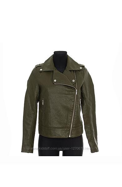 Женская косуха кожанка куртка Stradivarius