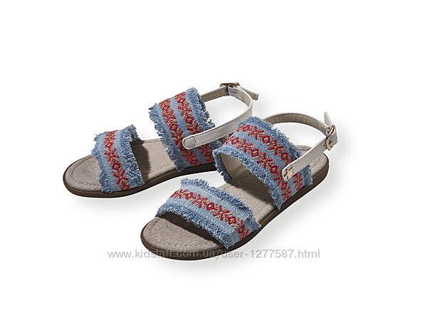 Босоножки сандали для девочки с кожаной стелькой