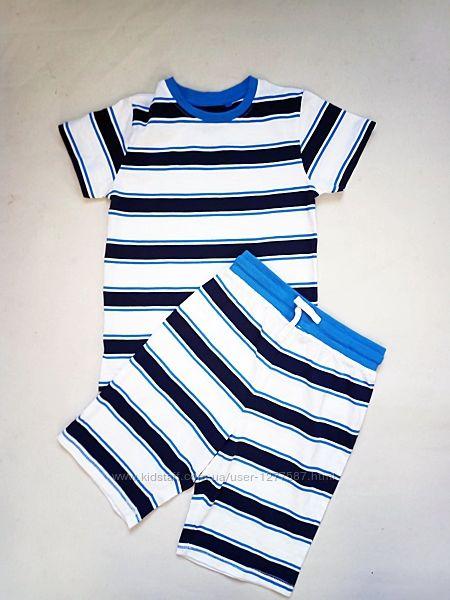 Комплект для дома и отдыха футболка и шорты р.122