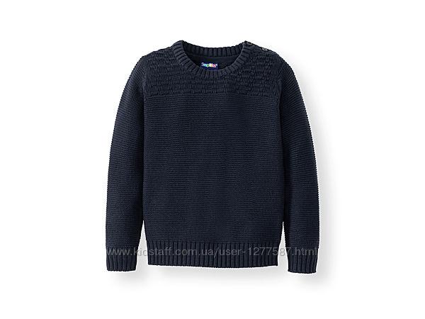 Вязаный свитер для мальчика 110/116