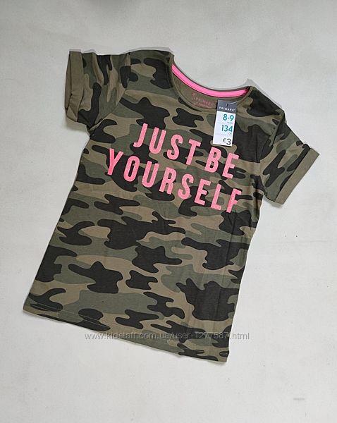 Стильная трендовая футболка для девочки