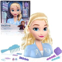Манекен голова для причесок Эльза холодное сердце Disney frozen Elsa