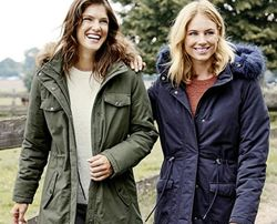 Теплая куртка-парка еврозима blue motion германия, размер S 36/38евро