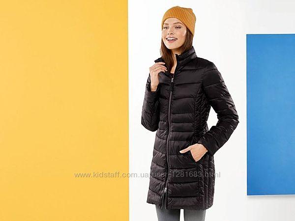 Качественное легкое стеганное пальто Esmara Германия, размер 42евро наш48