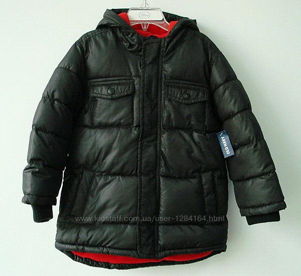 Тепла куртка хлопчику 5р. ріст 112 см Old Navy / детская теплая куртка