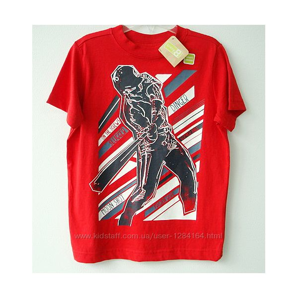 Футболка дитяча хлопчику р. 4, 110 см Crazy8 Регбіст / футболка мальчику