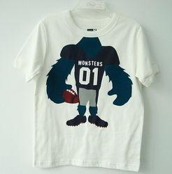 Футболка дитяча хлопчику р. 4, 110 см Crazy8 Монстр / футболка мальчику