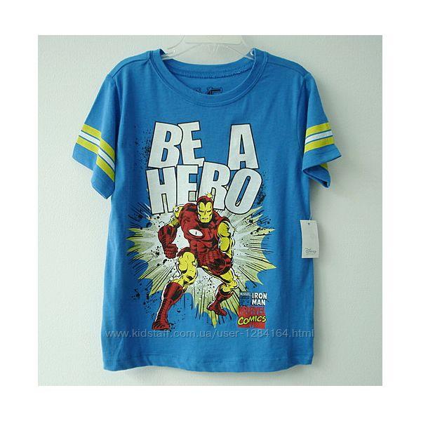 Футболка хлопчику 4р. , 96-104см Disney / синяя футболка мальчику Дисней