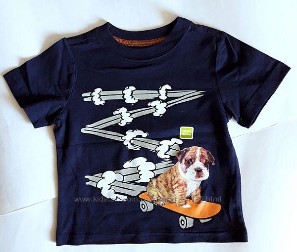 Дитяча футболка хлопчику 6-24міс. , 2р. , 64-92см Crazy8 / летняя футболка