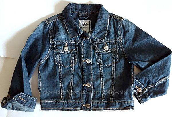 Джинсова куртка дівчинці 4-6р 99-122см Gymboree/Детская джинсовая куртка