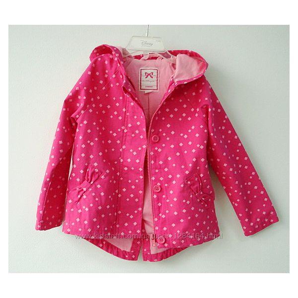 Куртка парка дівчинці 4р 99-107см Gymboree весна-осінь/ Парка девочке