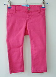 Детские розовые штаны девочки Old Navy 12-24 мес 74-84см 2года 91см