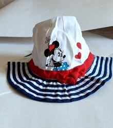 Дитяча панамки дівчаткам Disney 0-24міс 45см 49-51см/Детская панамка Дисней