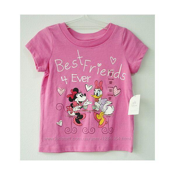 Дитяча футболка дівчинці 12-18міс 80см Disney/Детская футболка Дисней 1.5г