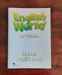 Пропись по англійській мові English World for Ukraine Starter Pupil&acutes book