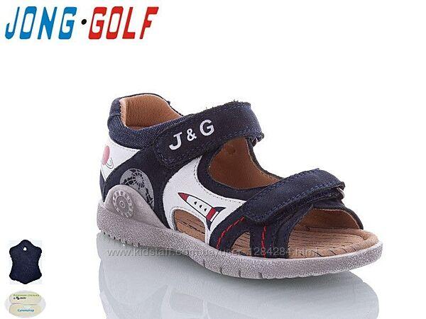 Босоножки сандалии легкие качественные для мальчиков JongGolf Размеры 24-31