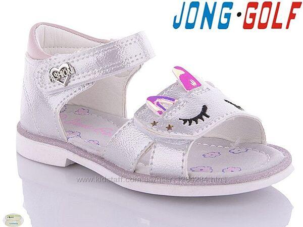 Босоножки, сандалии на девочку tm jong golf 20097 размеры 22- 27