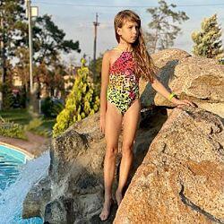 Детские купальники LOL для девочек на 2-11 лет