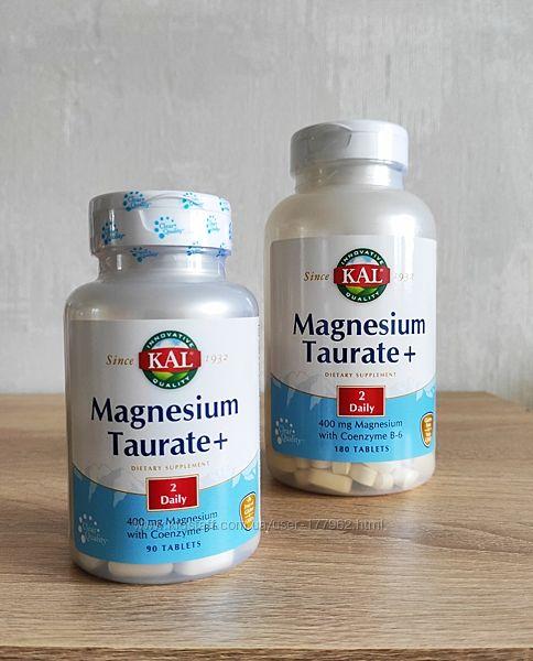 KAL, магний с Витамином В6, 400 мг, 90 таблеток