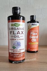 Nature&acutes Way, органическое льняное масло, суперлигнан, 720 мл