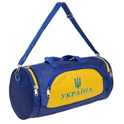 Спортивная сумка бочонок Ukraine