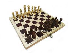 Шахматы деревянные классические 30 см