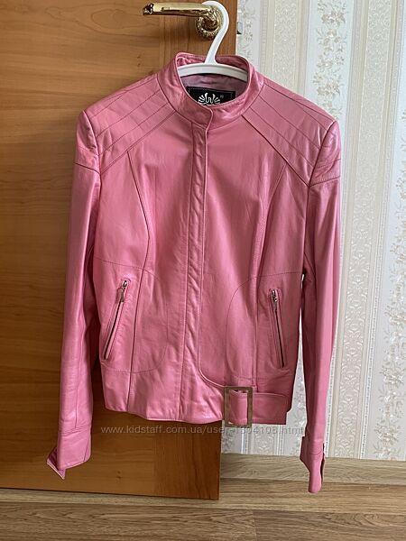 Пиджак куртка ветровка кожаная