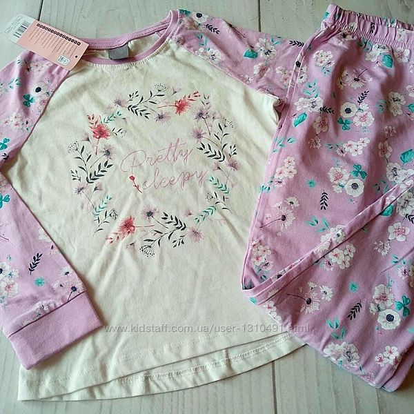 Пижама для девочки Польша