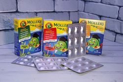 Витамины mollers omega-3 рыбки рыбий жир