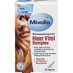 Витамины для укрепления волос mivolis германия
