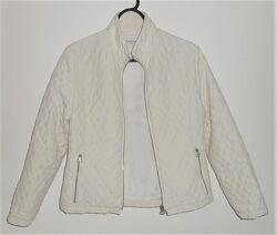 женская  куртка ветровка плащевка кремовая беживая xs xxs 34р.
