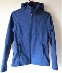 Женская куртка ветровка плащевка синяя kirkland signature s
