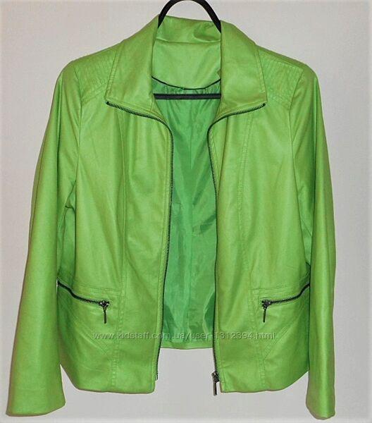 Женский жакет пиджак куртка салатовая зеленая размер m