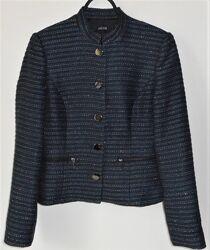 Женский жакет пиджак черный синий jacob размер 34