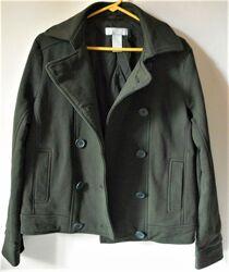 Joe fresh женский зеленый котоновый пиджак жакет куртка пальто р. l