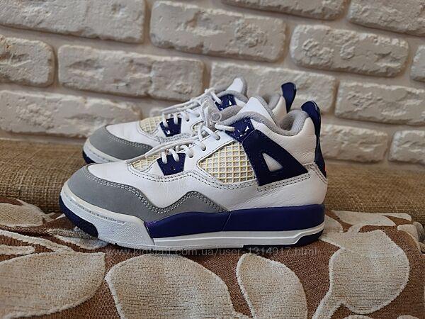 Ботинки, хайтопы  кожаные Nike Jordan ориг. Размер 28 ст. 18 см.