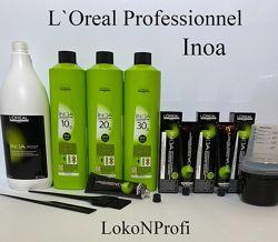 Окрашивание волос INOA от Loreal professionnel