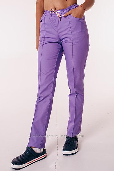 Медицинские брюки. Ткань-котон элит.