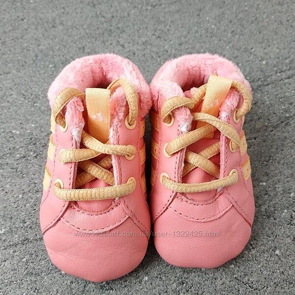 Фирменные пинетки красовки Adidas - 17 р - Оригинал