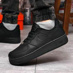 Кроссовки мужские 18232  Nike Air Force 1, черные