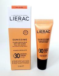 Солнцезащитный тонизирующий флюид Лиерак Lierac Sunissime spf 30
