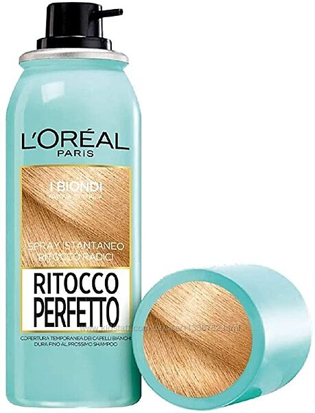 Тонирующий спрей для волос loral paris ritocco perfetto