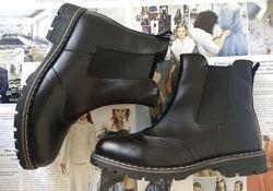 Подростковые демисезонный стильные ботинки Timberland челси натуральная кож
