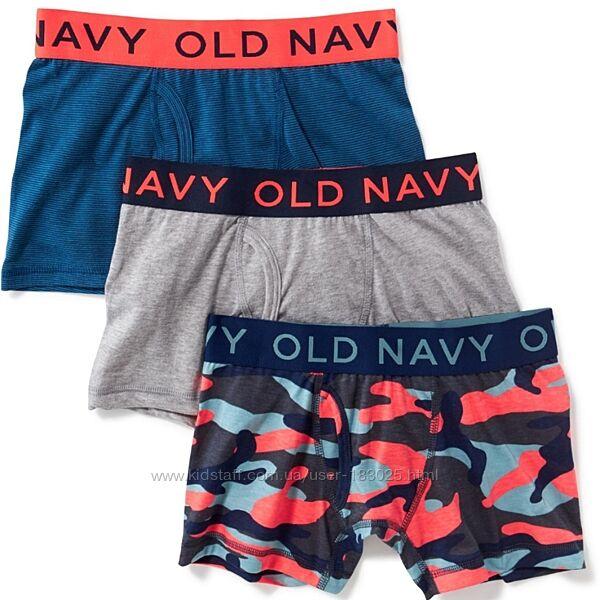 Комплект трусов, боксеры мальчику  парню 5 / 12  лет Old Navy