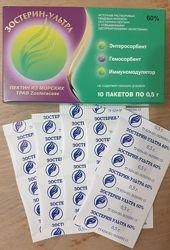 БАД Иммунодулятор, гемосорбент, энтеросорбент Зостерин-ультра 60