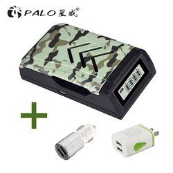 Зарядное устройство PALO USB для AA  AAA аккумуляторов