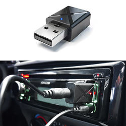 Приемник Bluetooth сигнала через AUX для колонки, магнитолы или наушников