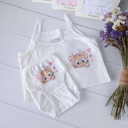 Комплекты нижнего белья для девочек, Турция Katamino