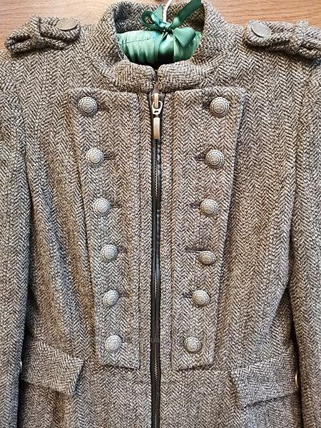 Пальто Zara шерсть XS