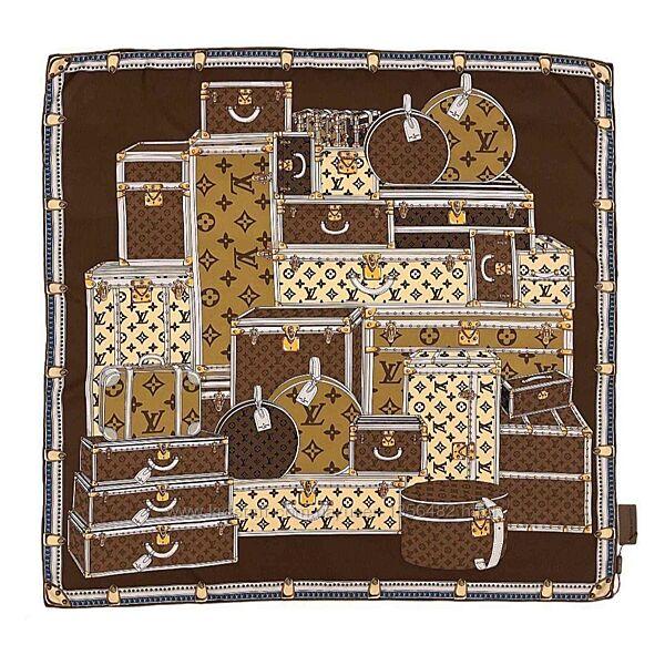 Платок шарф женский шелковый Louis Vuitton